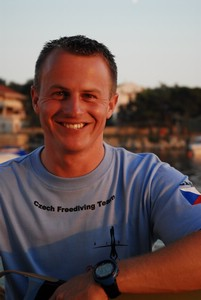 FII Freediving Instructor Trainer, David Cani
