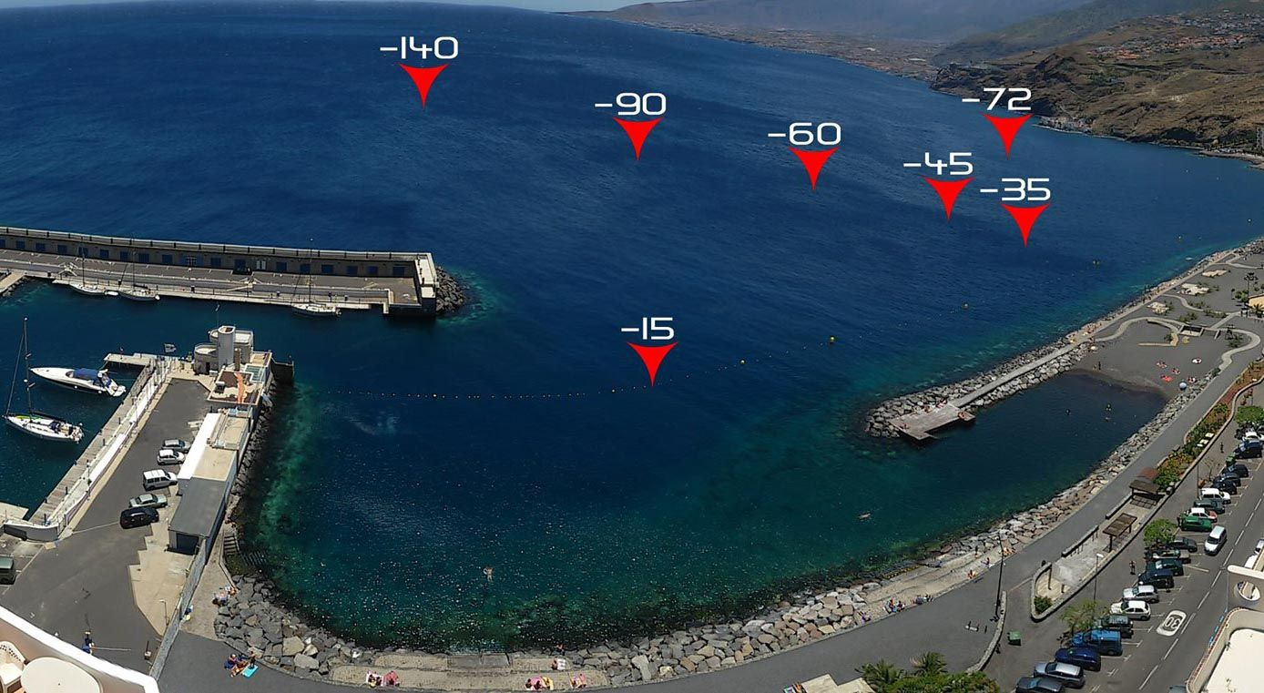 Depth training sites during the FII Freediving Camp! www.freedivinginstructors.com